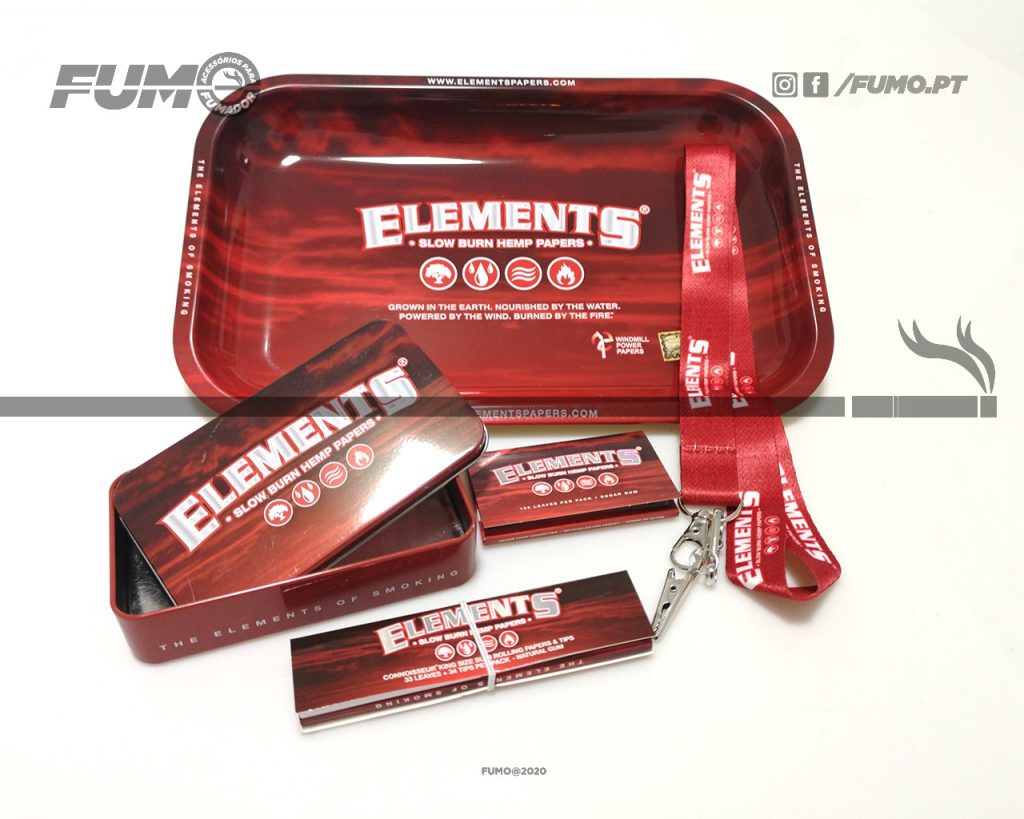 Pack Elements Red Small