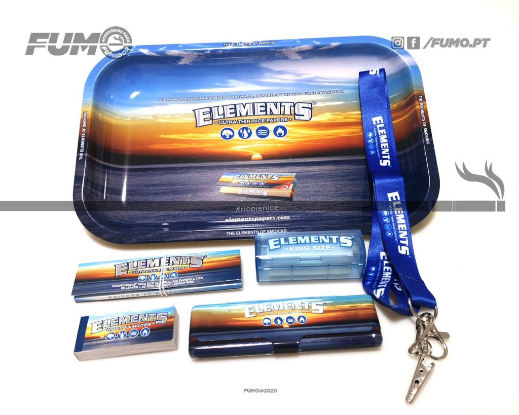 Pack Elements Blue Small