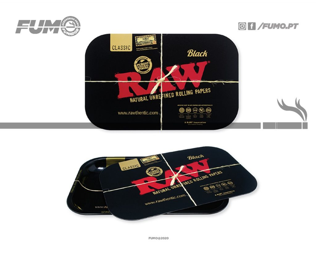 Raw Black Magnetic Cover Small
