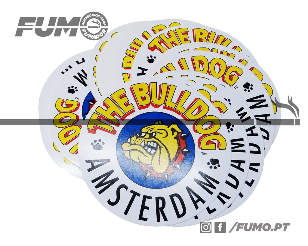 The Bulldog Amsterdam Sticker