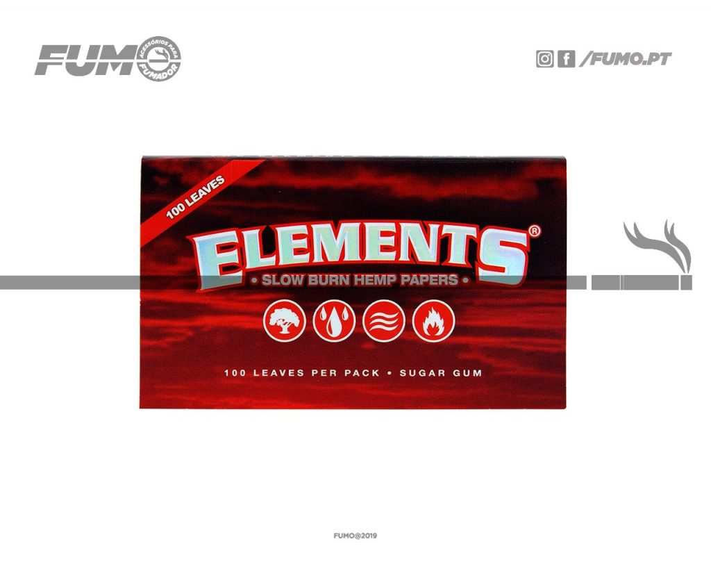 Elements Red Single Wide Double Pack