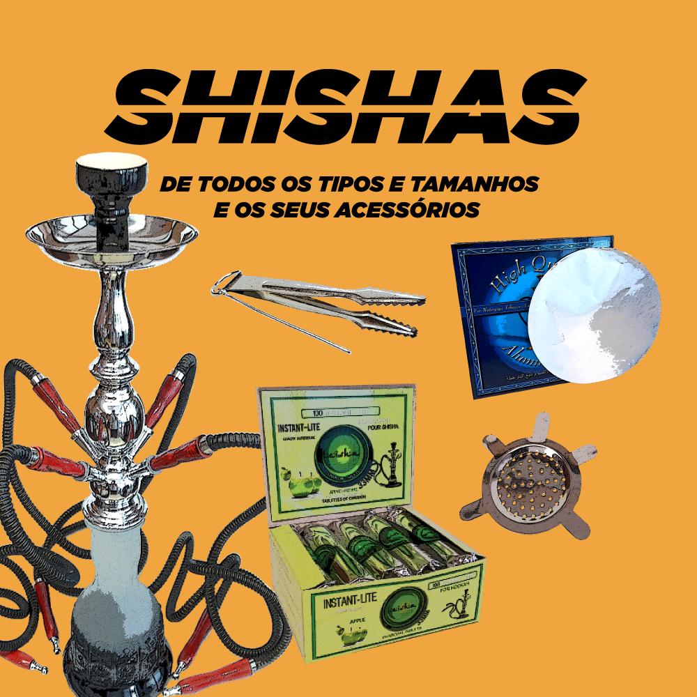 Shishas e Acessórios